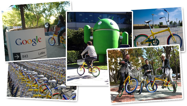 Republic Bike custom bicycle program at the Googleplex, Mountain View, California