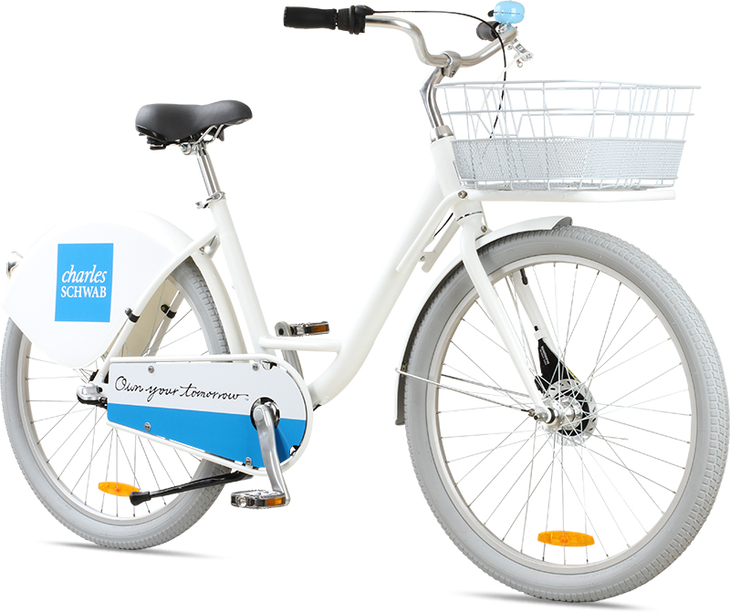 Corporate Bike Share for Charles Schwab